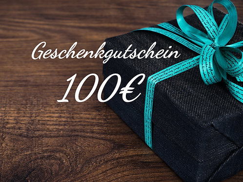 Geschenkgutschein - 100€ -