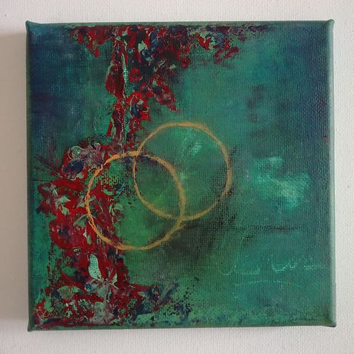 Loving Soul Mates - 15 x 15 cm
