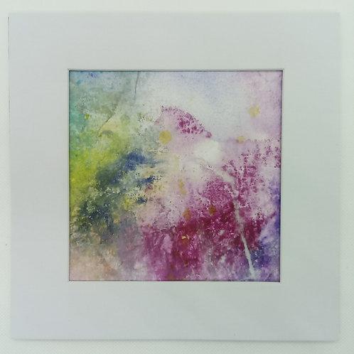 """Moment of Paper"" - 13 x 13 cm   Unikat"