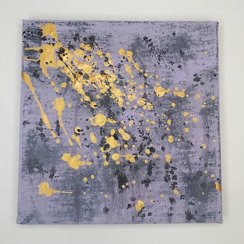Goldregen - 15 x 15 cm | Unikat