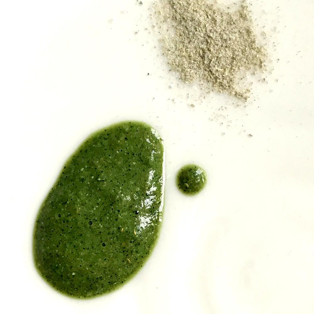 organic face powder cleanser