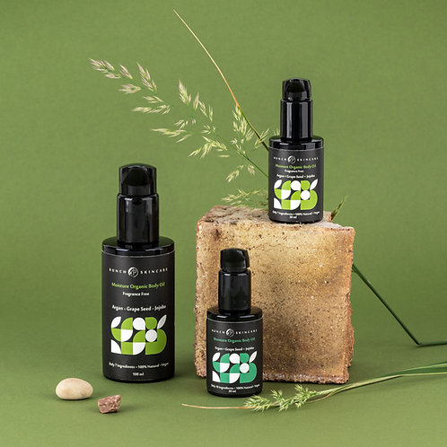 Moisture Organic Body Oil - Fragrance Free