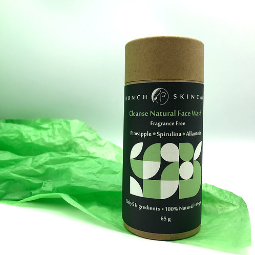 Cleanse Natural Face Wash - fragrance-free