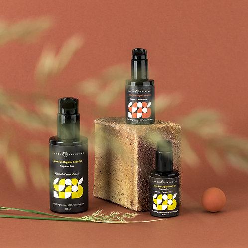 After Sun  Organic Body Oil