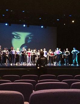 KS Dance in rehearsal