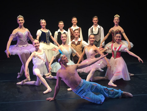 Team GB and Ballet Competitions