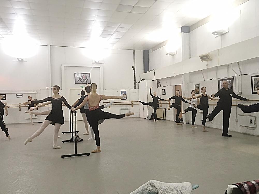 Science in Dance Ballet Class