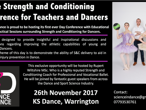 Science in Dance Conference for Teachers of Dance