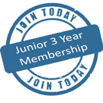 GDCTA 3 Year JUNIOR MEMBERSHIP