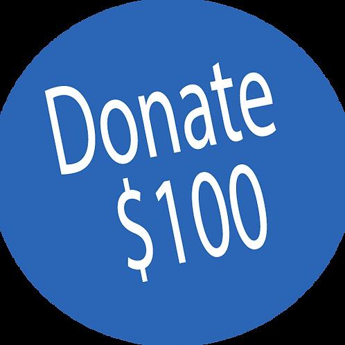 Donation-$100