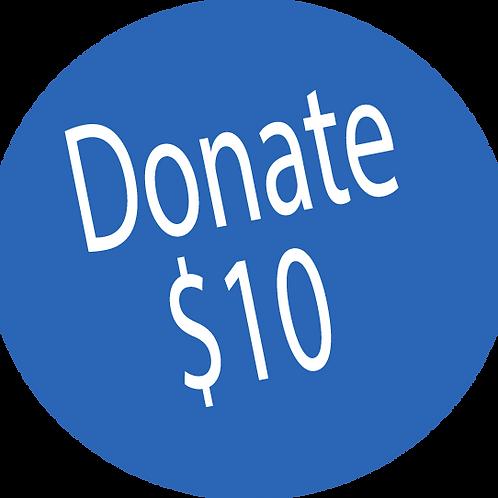 Donation-$10