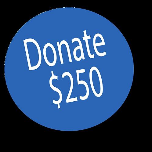 Donation-$250