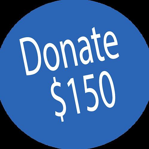 Donation-$150
