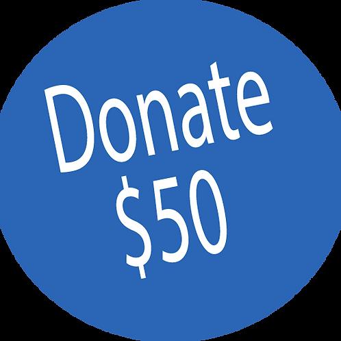 Donation-$50