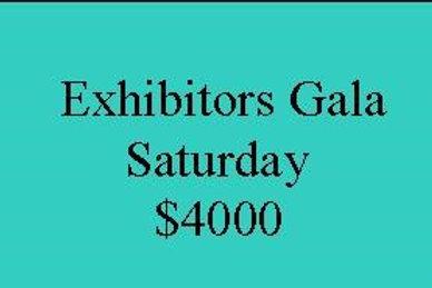 Saturday Exhibitors Party