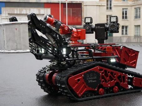 O robô que ajudou a apagar o incêndio em Notre-Dame