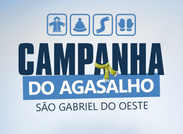 Prefeitura de São Gabriel do Oeste inicia Campanha do Agasalho 2019
