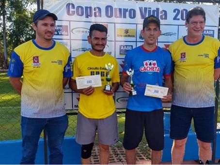 Confira o resultado final do Ouro Vida Open de Tênis 2019, em São Gabriel do Oeste