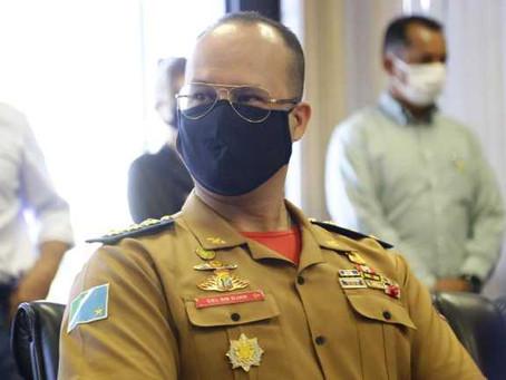 Coronel Hugo Djan Leite é nomeado novo comandante do Corpo de Bombeiros de MS