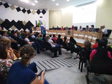 Reorganização das ESFs é debatido entre profissionais, Executivo e Legislativo