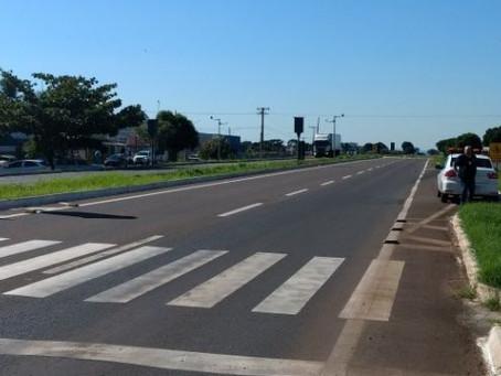 Agência Estadual de Metrologia verifica lombadas eletrônicas em São Gabriel, Coxim e Rio Verde