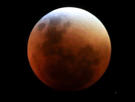 Próxima Lua de Sangue será visível em todo o Brasil em 2022