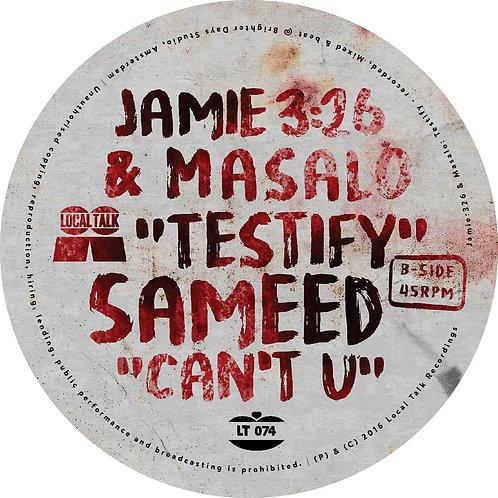 Jamie 3:26 & Masalo - Testify