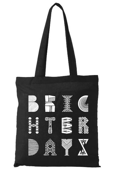 BD tote bag // black