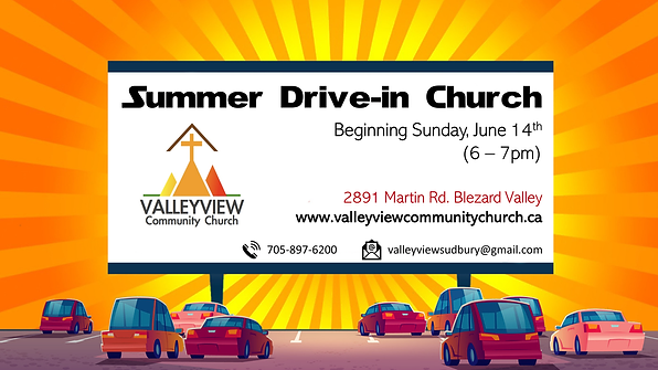 Drive in Church poster.png