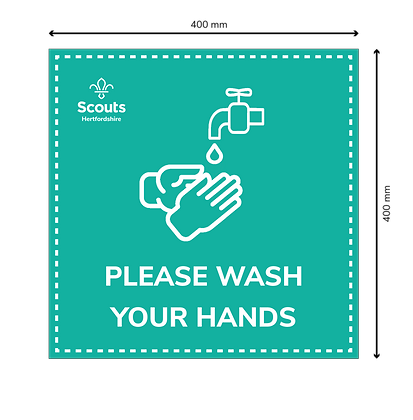 COVID Signage - Wash Your Hands