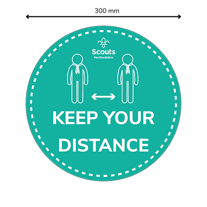 COVID Signage - Keep Your Distance