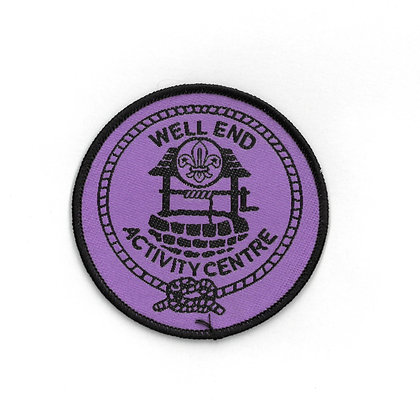 Well End Activity Centre Badge Purple