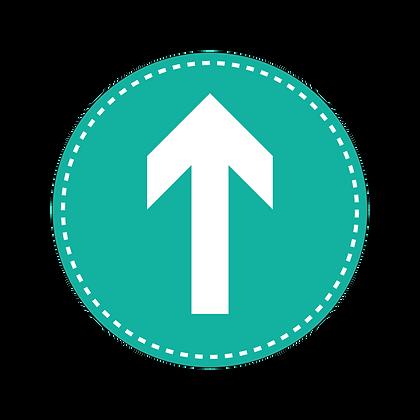 COVID Signage - Arrow