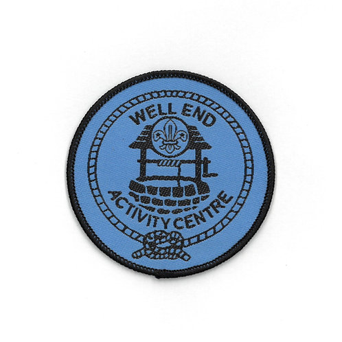 Well End Activity Centre Badge Blue
