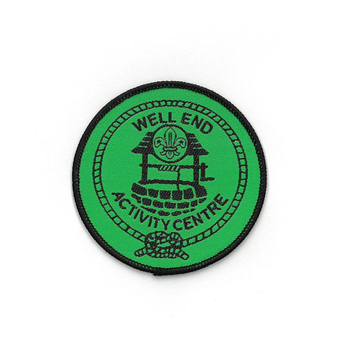 Well End Activity Centre Badge Green