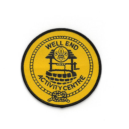 Well End Activity Centre Badge Yellow