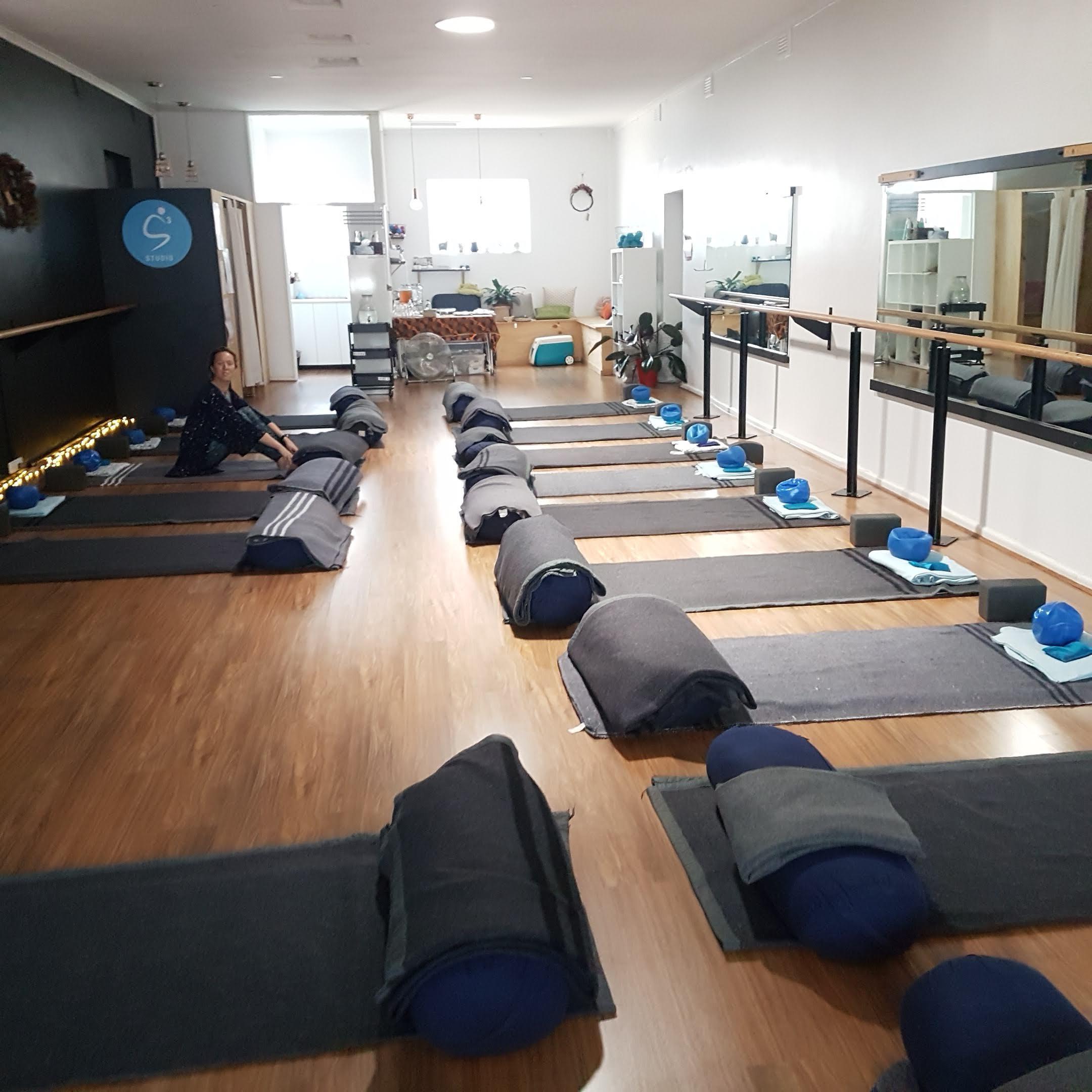 Restorative Yoga In Studio
