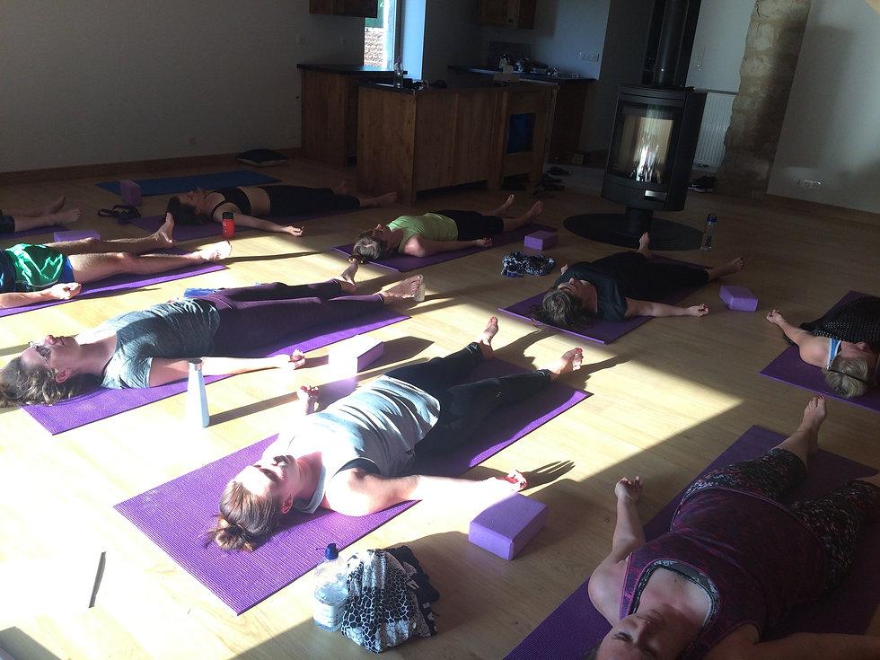 Gentle Yoga Ellen blackman yoga