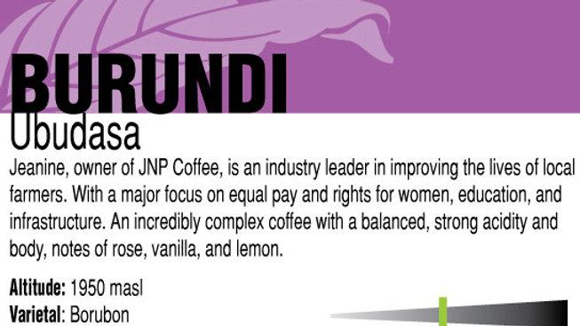 Burundi Ubudasa