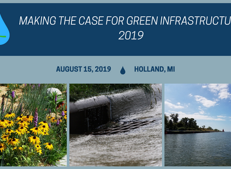 Donald Carpenter speaks at the 2019 Making the Case for Green Infrastructure Seminar