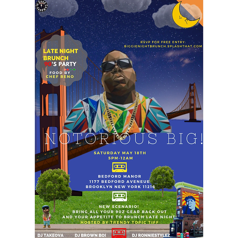 """Biggie """"One More Chance"""" 90z Party"""