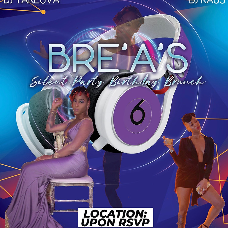 Brea's Silent Party Birthday Brunch