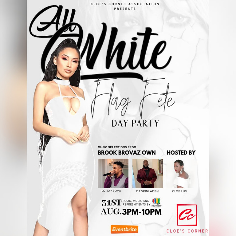 All White Flag Fete Day Party