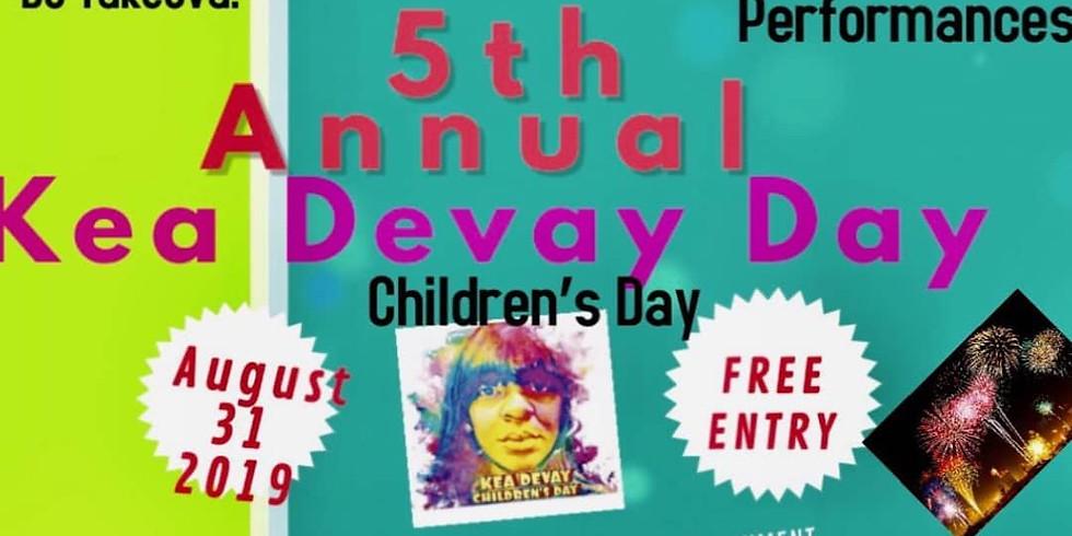 5th Annual Kea Devay Day