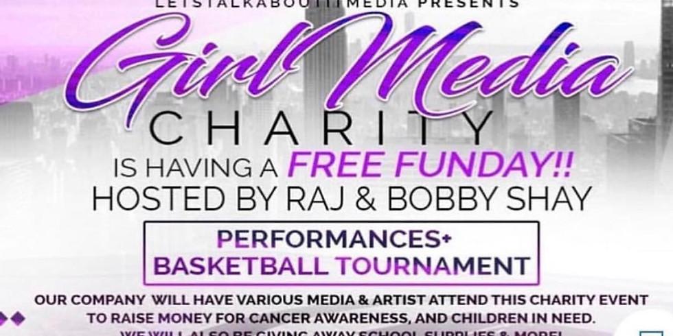 Girl Media Charity Fun Free Day