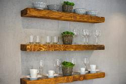 Shelves-glasses
