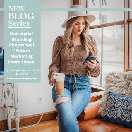 Hairstylist Branding Photoshoot *Future Marketing Photo Ideas