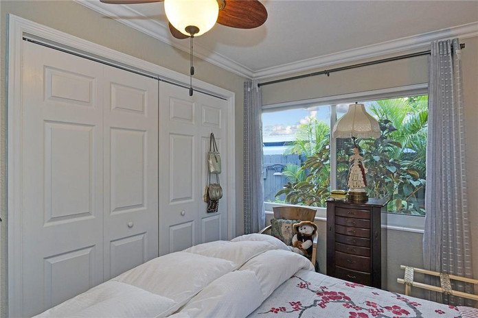 Bedroom with lots of Closet Space and Natural Light