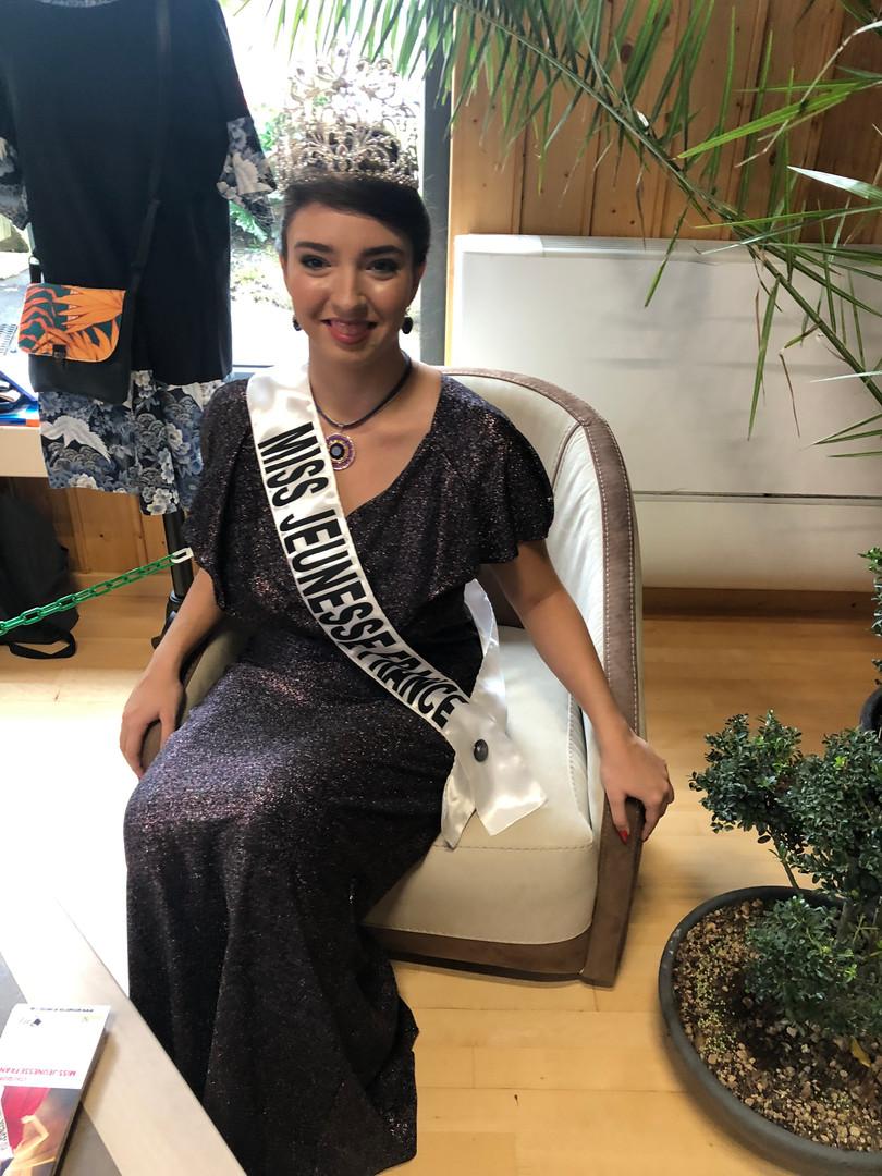 Lou Quintar, Miss Jeunesse France