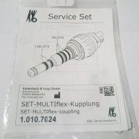 O-ring set voor Kavo multiflex koppeling